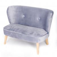 Drewex retro gyerek kanapé - Szürke
