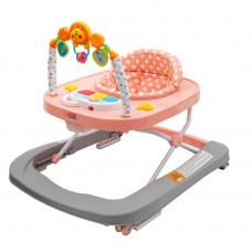 New Baby bébikomp szilikon kerekekkel Forest Kingdom - Barack Előnézet