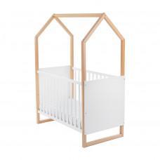 Gyermek kiságy Házikó formájú Előnézet