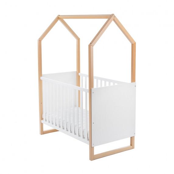 Gyermek kiságy Házikó formájú