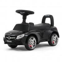 MILLY MALLY Mercedes Benz AMG C63 Coupe Lábbal hajtós kisautó - fekete