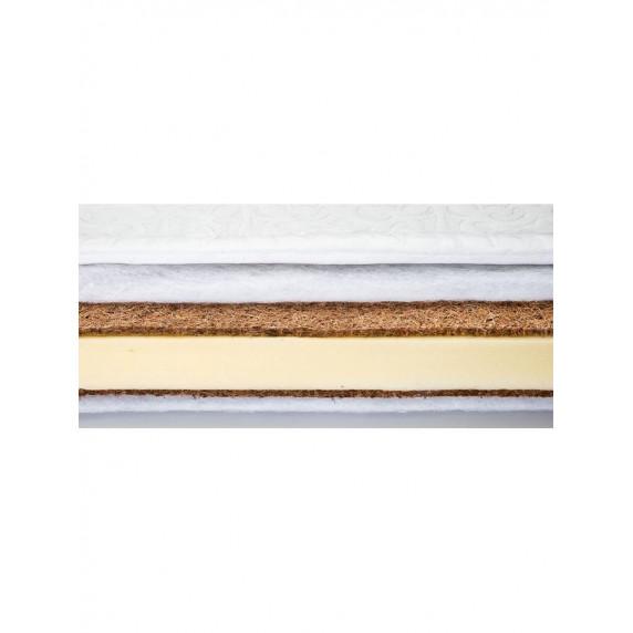 SENSILLO kókusz-molitán-kókusz matrac 120x60 cm