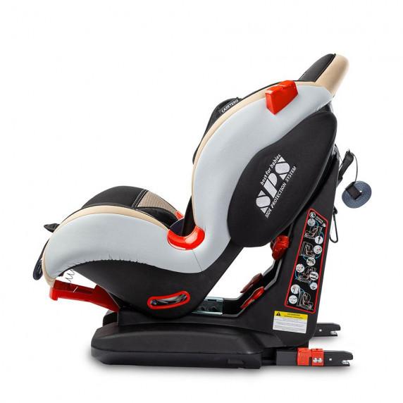 Autósülés CARETERO Sport TurboFix 2016 9-25 kg - bézs