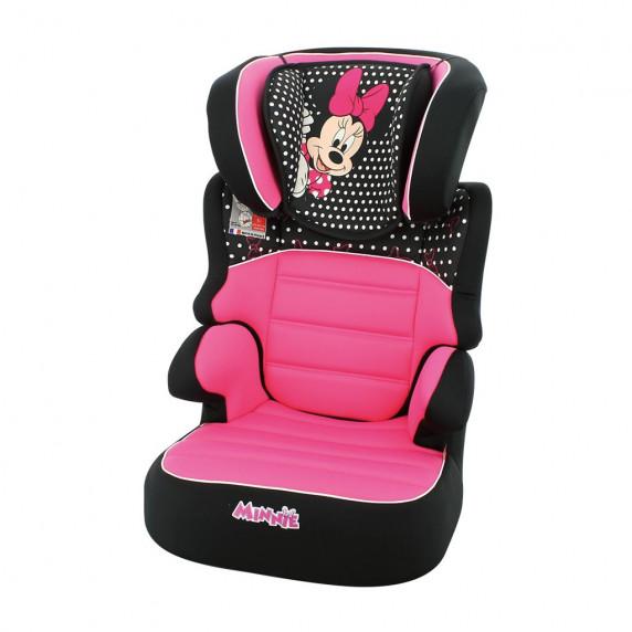 Autósülés Nania BEFIX Disney LUXE15-36 kg MINNIE - rózsaszín