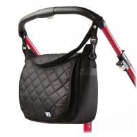 Steppelt táska babakocsira CARETERO - fekete