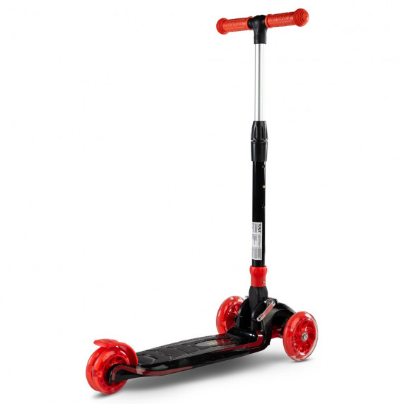Roller háromkerekű Toyz Carbon - piros