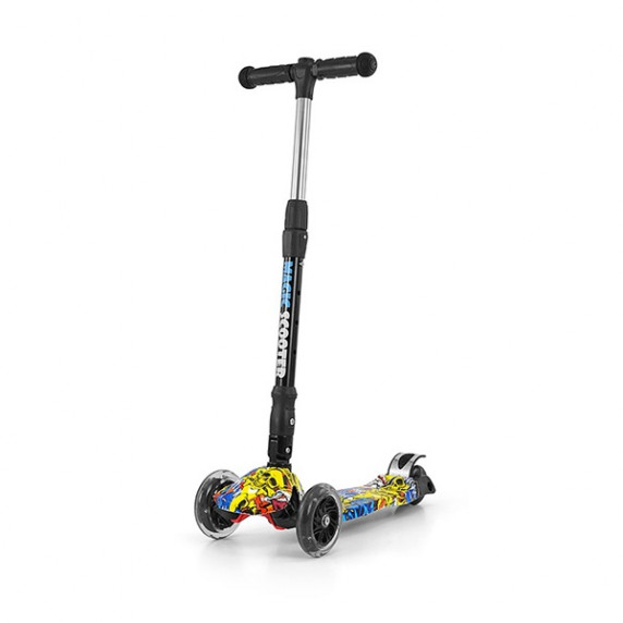 Milly Mally Magic Scooter roller - graffity