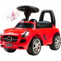 Lábbal hajtós kisautó BAYO Mercedes -Benz - piros