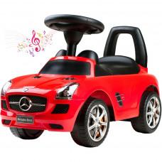 Lábbal hajtós kisautó BAYO Mercedes -Benz - piros Előnézet