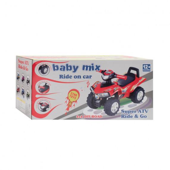 Lábbal hajthatós quad Baby Mix - kék