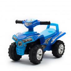 Lábbal hajthatós quad Baby Mix - kék Előnézet