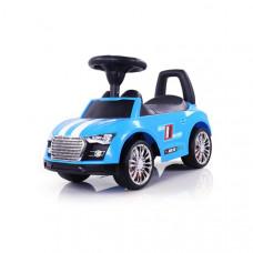 Milly Mally Racer Lábbal hajtós kisautó - kék Előnézet