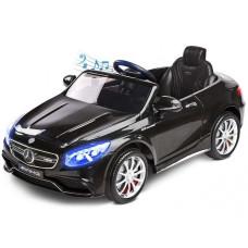 Elektomos kisautó TOYZ Mercedes-Benz S63 AMG - fekete Előnézet