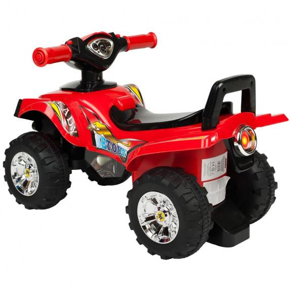 Lábbal hajthatós quad Bayo - piros