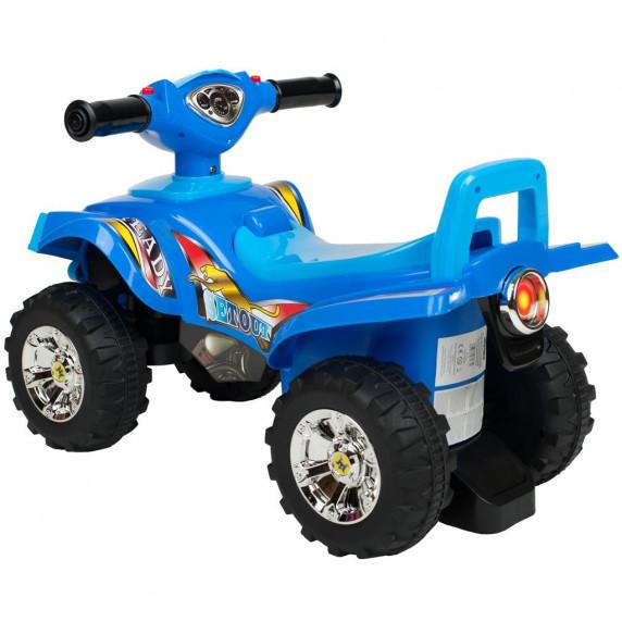 Lábbal hajthatós quad Bayo -kék