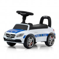 Lábbl hajtós kisautó MILLY MALLY Mercedes Benz AMG C63 Coupe - Police