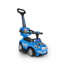 Milly Mally Happy 2az1-ben gyermekjármű  - kék Előnézet