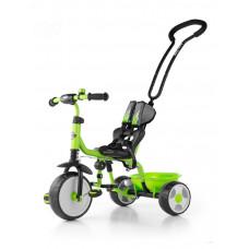 Milly Mally Boby 2015 tricikli tolókarral - zöld Előnézet