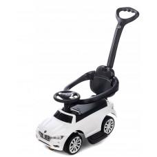 Aga4Kids BMW kisautó vezetőrúddal - Fehér Előnézet