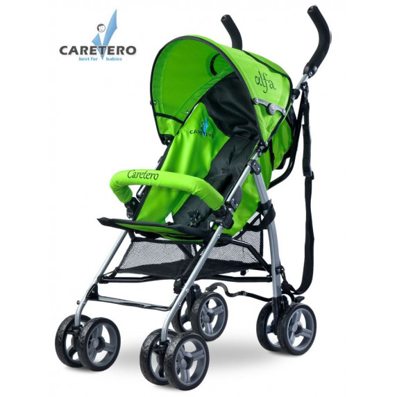 CARETERO Alfa 2016 golf babakocsi - zöld