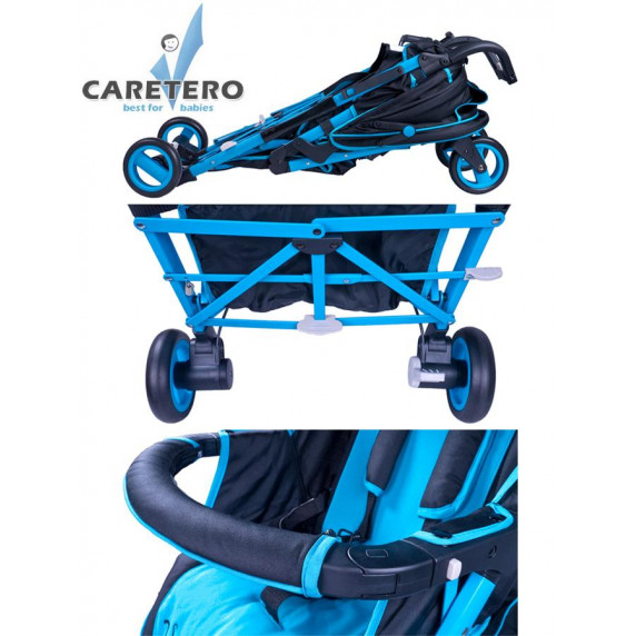 CARETERO Sonata sport babakocsi - szürke