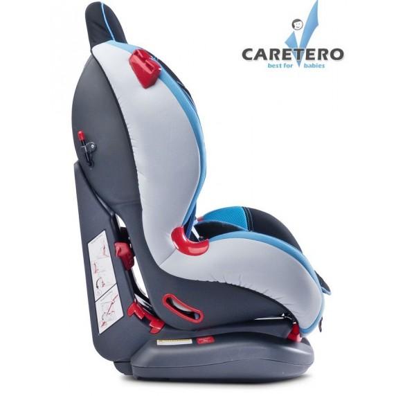 Autósülés CARETERO Sport Turbo 2015 9-25 kg - Grafit szürke