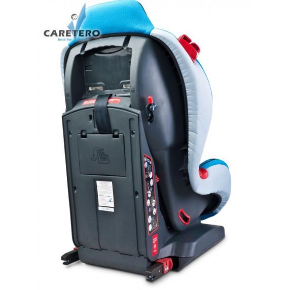 Autósülés CARETERO Sport TurboFix 2016 9-25 kg - grafit szürke