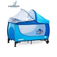 CARETERO Grande utazóágy - kék