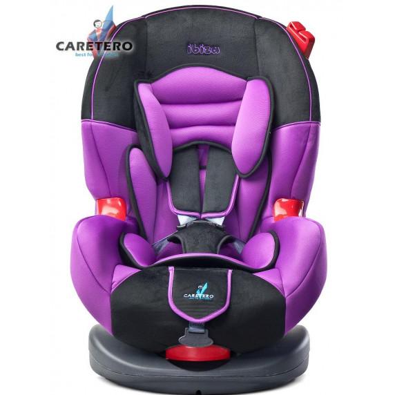 Autósülés CARETERO IBIZA 2016 9-25 kg - Lila