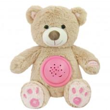 Baby Mix plüss maci projektorral - rózsaszín Előnézet
