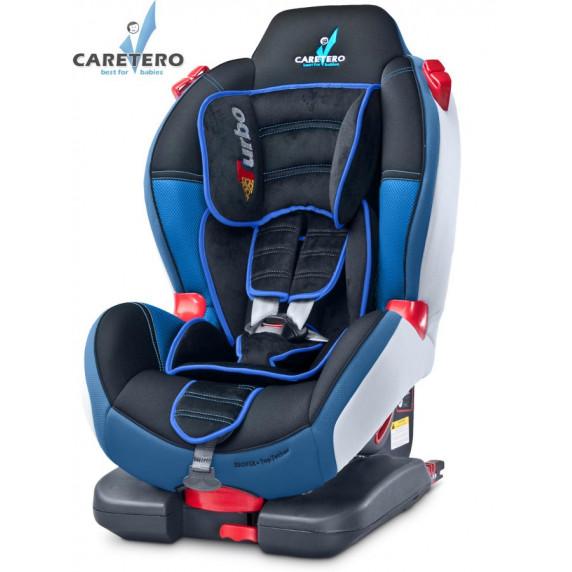 Autósülés CARETERO Sport TurboFix 2016 9-25 kg - navy kék