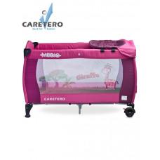 CARETERO Medio utazóágy - purple Előnézet