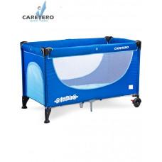 CARETERO Simplo utazóágy - blue Előnézet