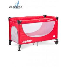 CARETERO Simplo utazóágy - red Előnézet