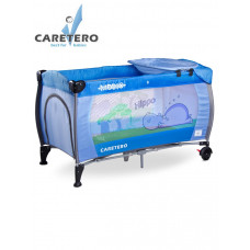 CARETERO Medio utazóágy - kék Előnézet