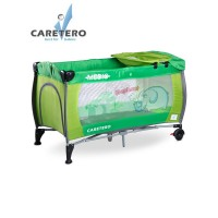 CARETERO Medio utazóágy - zöld