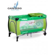 CARETERO Medio utazóágy - zöld Előnézet