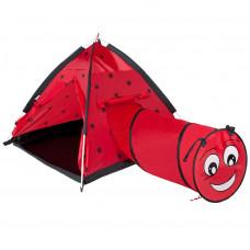 PLAY TO gyerek sátor Katicabogár alagúttal Előnézet