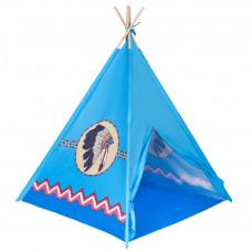 PLAY TO Teepee Indián gyerek sátor - kék Előnézet