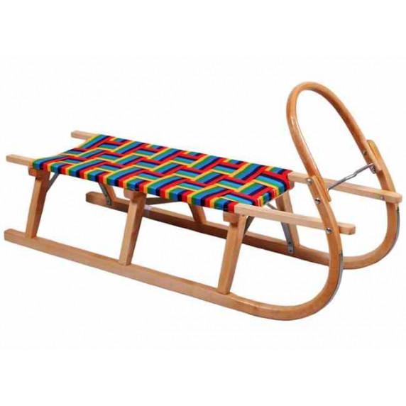 BAYO gyerek fa szánkó - Classic