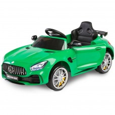 TOYZ Mercedes GTR elektromos kisautó - zöld Előnézet