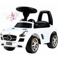 BAYO Mercedes-Benz Lábbal hajtós kisautó - fehér