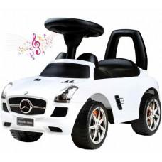BAYO Mercedes-Benz Lábbal hajtós kisautó - fehér Előnézet