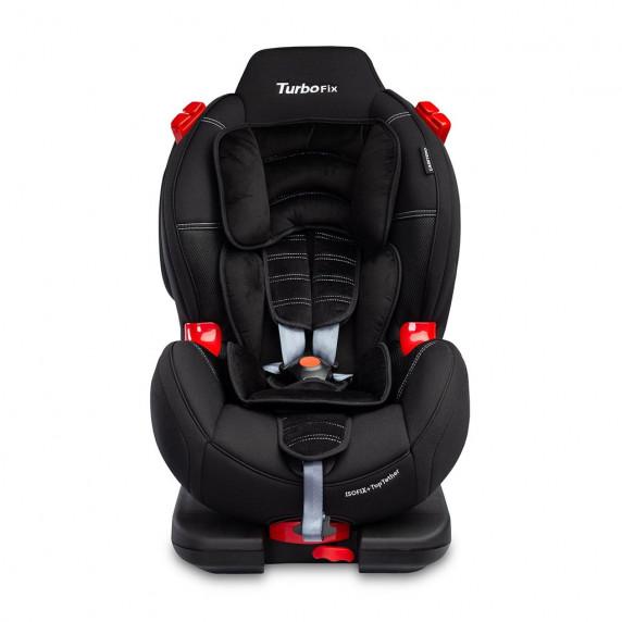 Autósülés CARETERO Sport TurboFix 2016 9-25 kg - fekete