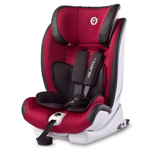 Autósülés CARETERO Volante Fix Limited 2018 9-36kg - Burgundi