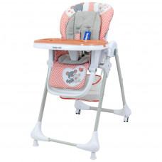 BABY MIX Infant etetőszék - rózsaszín Előnézet