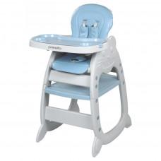 BABY MIX Presito etetőszék 2az1-ben - kék Előnézet