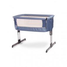 CARETERO Sleep2gether gyerek kiságy - kék Előnézet