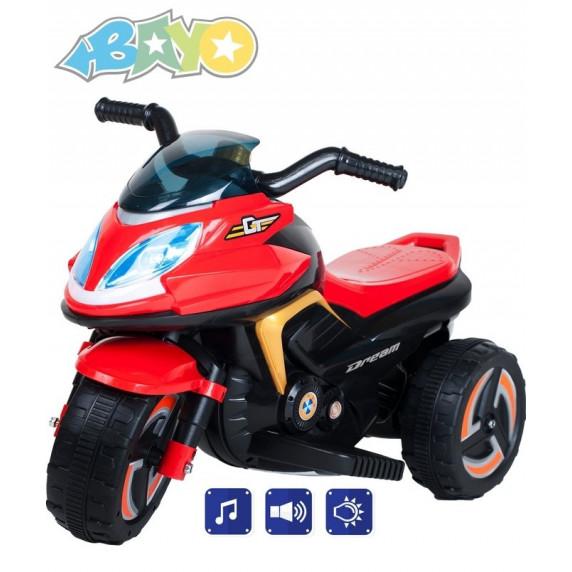 BAYO KICK elektromos gyerekmotor - Piros