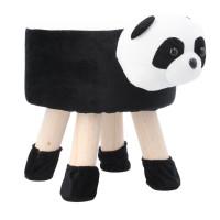 Inlea4Fun Gyerek puff ülőke - Panda